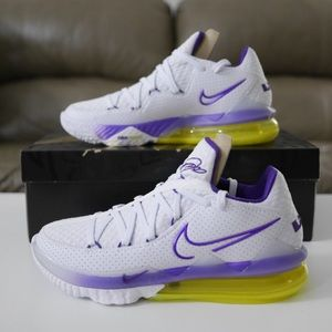 Nike Lebron 17 Low 'Lakers Home' Size 9.5M / 11W